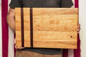 Wallnut Stripe Cutting Board