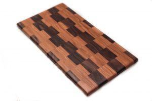 Checkered Board Cutting Board
